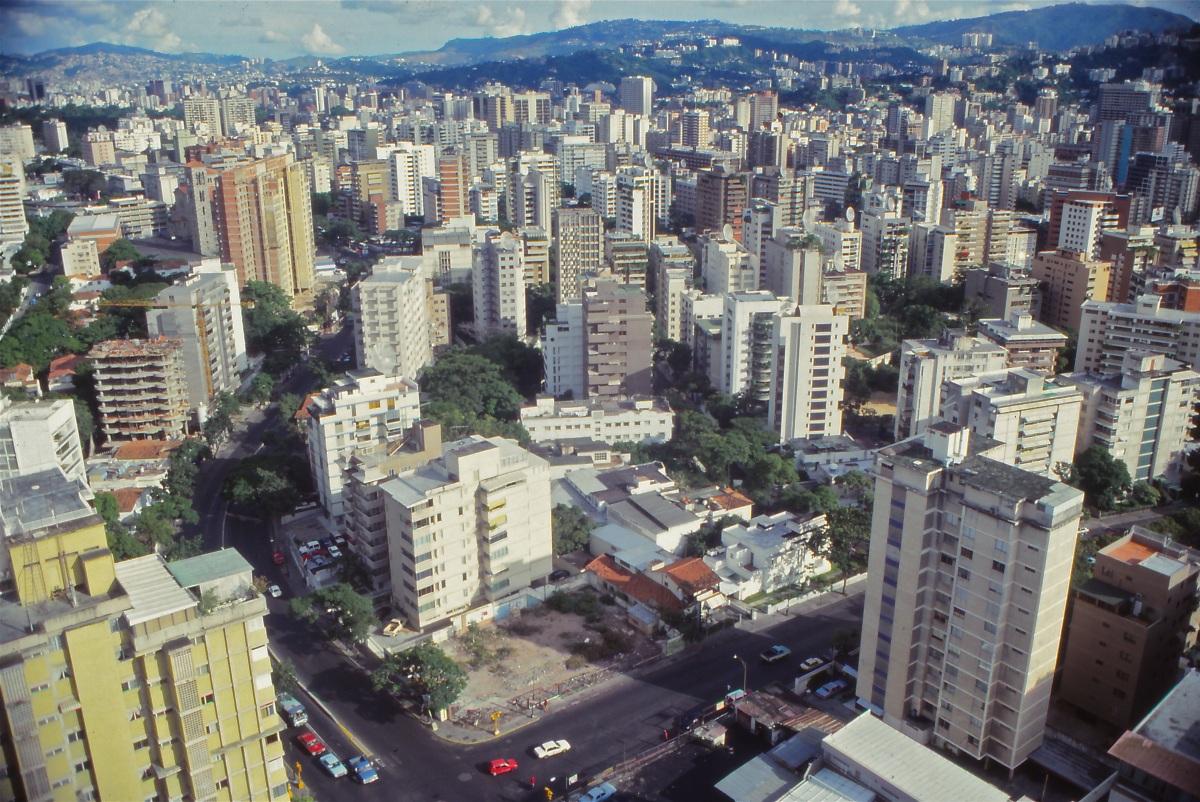 A Caracas man / Un hombre deCaracas