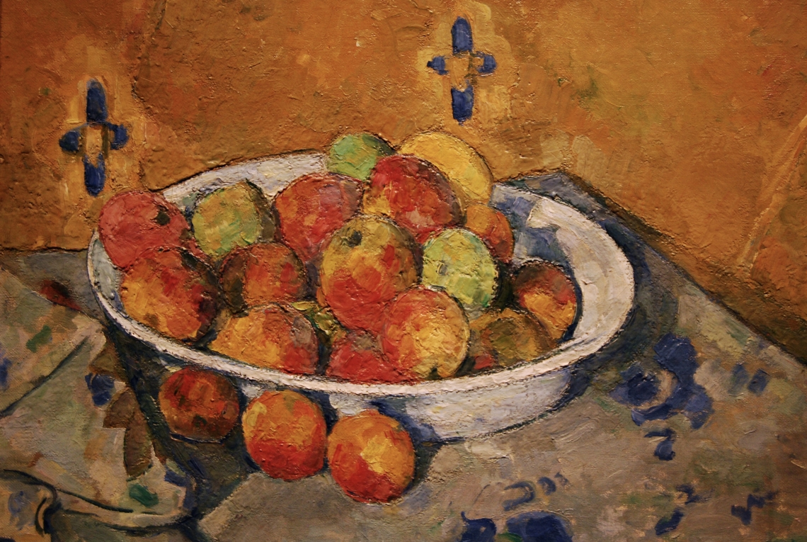 Paul Cezanne, Plate of Apples