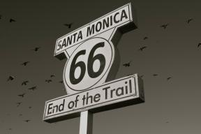 Santa Monica, End of HWY 66