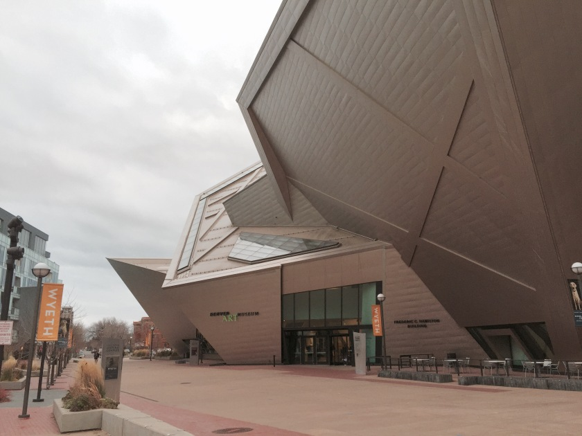 Denver Art Museum in Denver, Colorado
