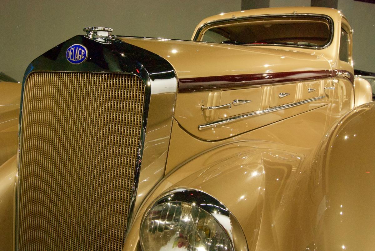 Delage, Peterson Automotive Museum, Los Angeles